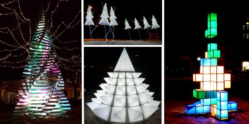 kerstbomen Riga