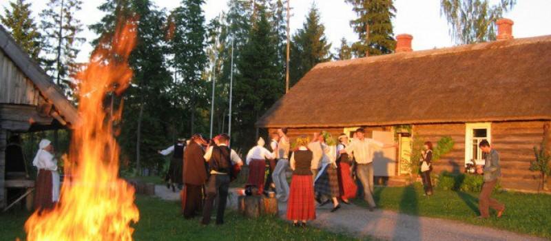 Midzomernacht Letland
