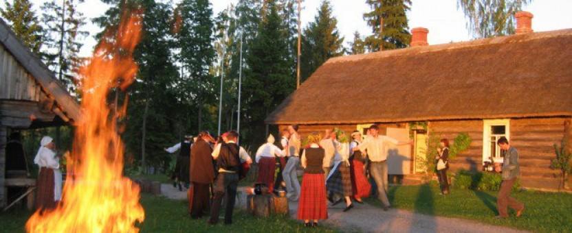 Midzomernacht vieren in Riga
