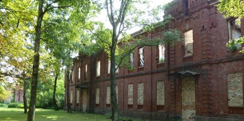 Verlaten landhuis Karoste