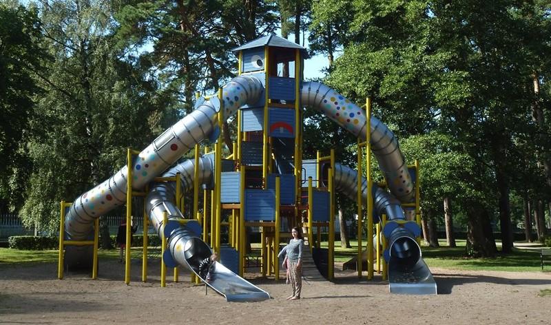 Speeltuin Ventspils letland