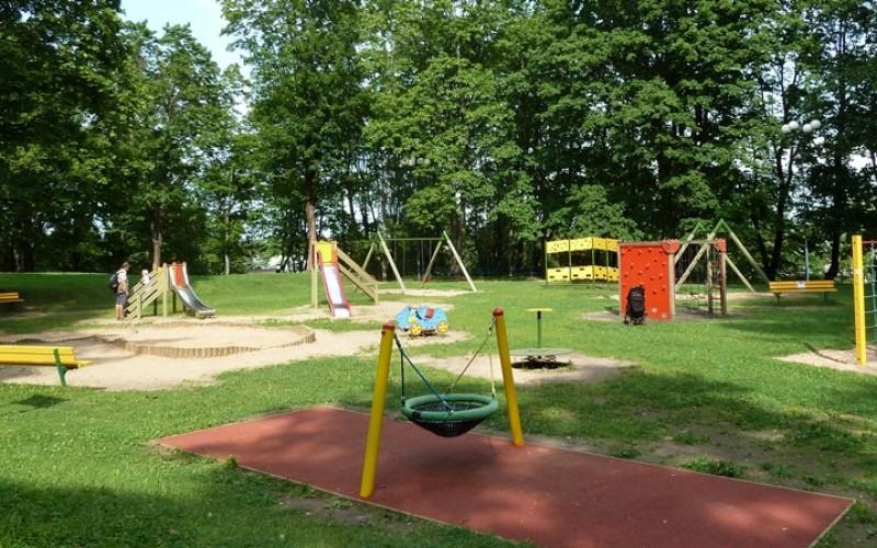 Tartu speeltuin in park